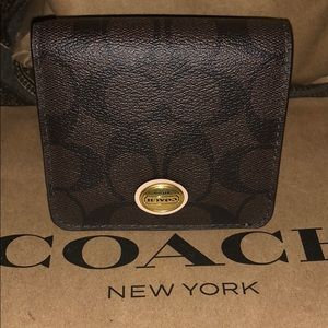 100% Authentic Coach Mini Purse